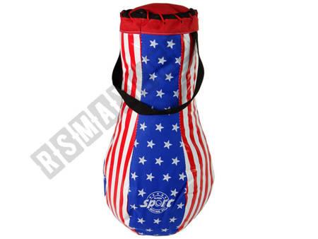 Kids Punch Bag Kit Childrens Mega Boxing Set + Gloves Boxing Bag Set 40 cm
