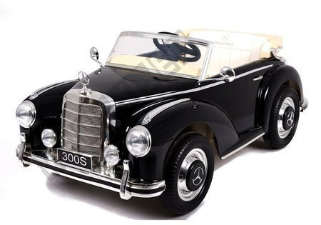 LS-618 Mercedes 300S Black Painting - Electric Ride On Car