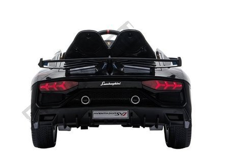 Lamborghini Aventador Electric Ride On Car - Black