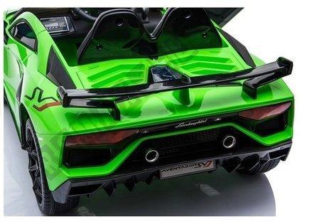 Lamborghini Aventador Electric Ride On Car - Green