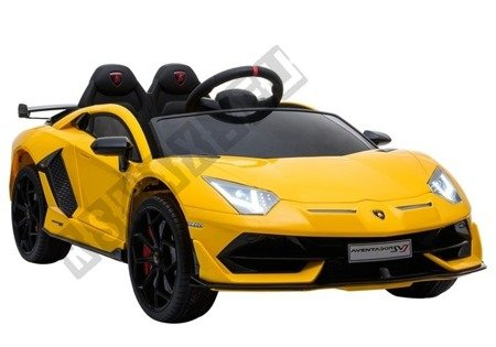 Lamborghini Aventador Electric Ride On Car - Yellow