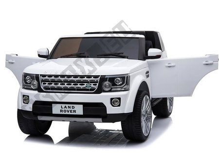 Land Rover BDM0918 Electric Ride On The Car - White