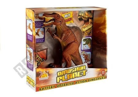 Large Battery Operated Dinosaur Roars Tyrannosaurus