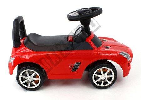MERCEDES SLS AMG pusher Walker red