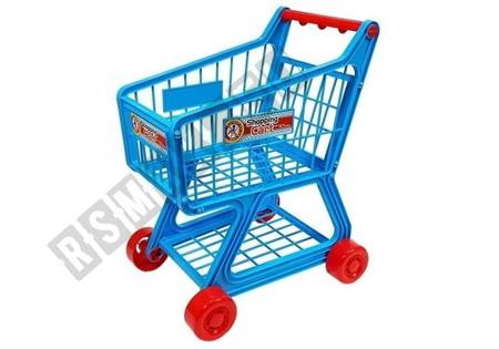 Market Trolley 34 Children's Items for Shopping