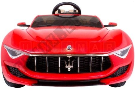 Maserati rechargeable battery 12V red