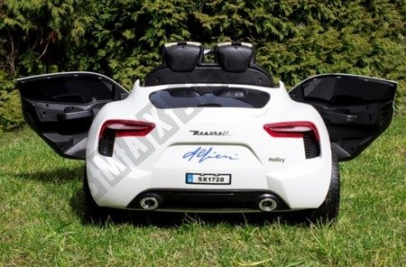 Maserati rechargeable battery 12V white