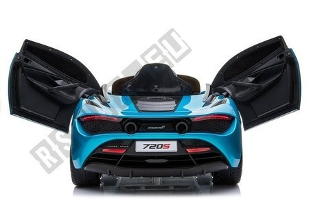McLaren 720S Electric Ride On Car - Blue Painted