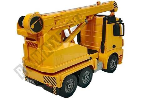Mercedes-Benz Arocs 2.4G Remote-Controlled Crane with Wood