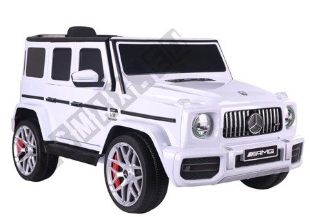 Mercedes G63 Electric Ride On Car - White