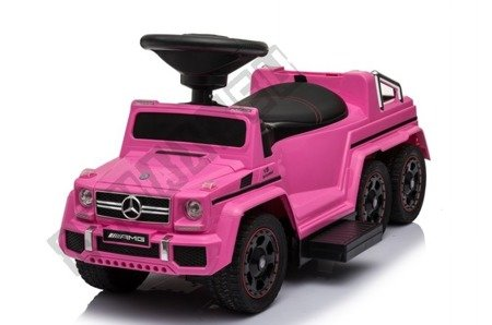 Mercedes G63 battery rider pink NEW !