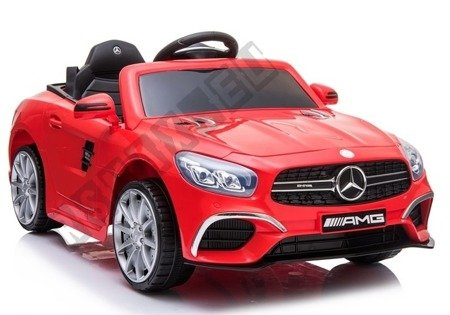 Mercedes SL63 Electric Ride On Car - Red Painted