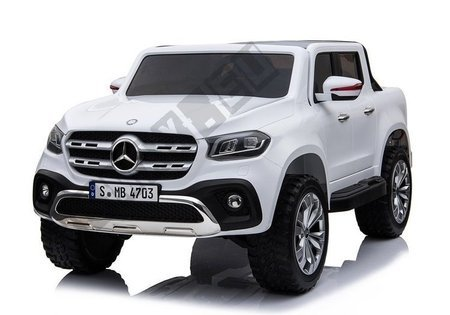 Mercedes X White - Electric Ride On Car