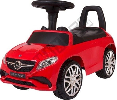 Mercedes rider GLE63 Coupe pusher red