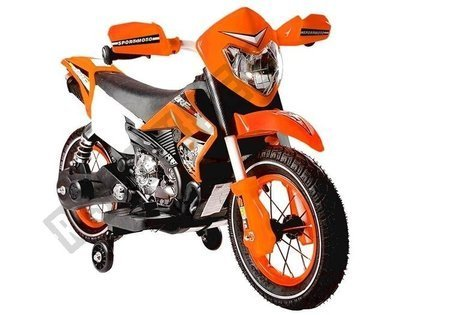 Orange Electric Ride On Bike FB-6186 Motorcycle