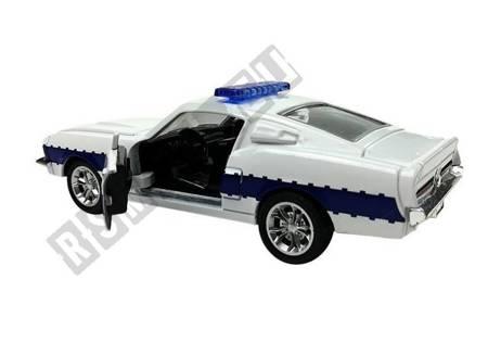 Police Service Car 1:32 White