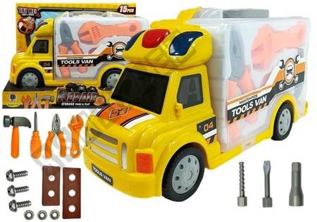 Portable Car with Accesories Workshop Handyman