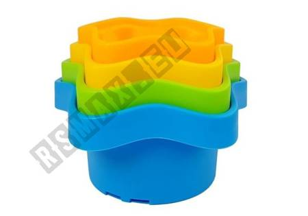 Pyramid Cups for Babies Asterisks