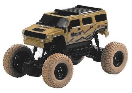 R/C Car Jeep Beige 1:18