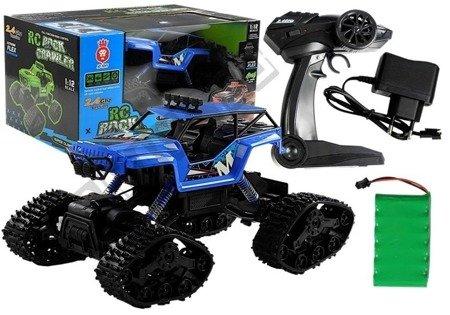 R/C Monster Car Jeep 1:12 Blue