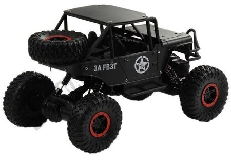 R/C Monster Car Jeep 1:18 Black