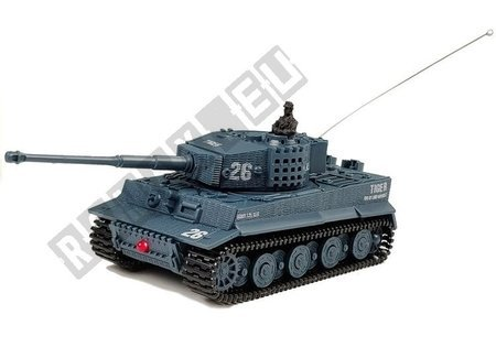 R/C Tank Remote Control Gray 1:72 with sounds