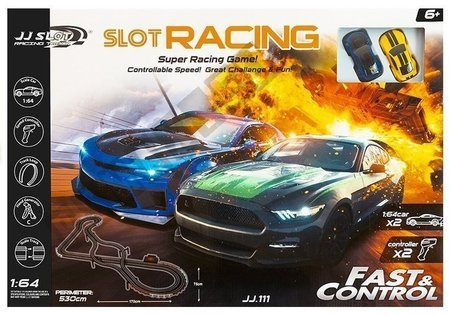 Racing Track 2 Cars Controllers Slot Cars