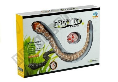 Realistic Snake Remote Controlled Orange