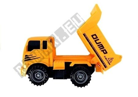 Set Of Vehicles For Unscrewing Concrete Mixer Tipper