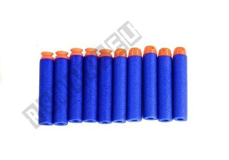 Set of Pistols 10 Foam Cartridges