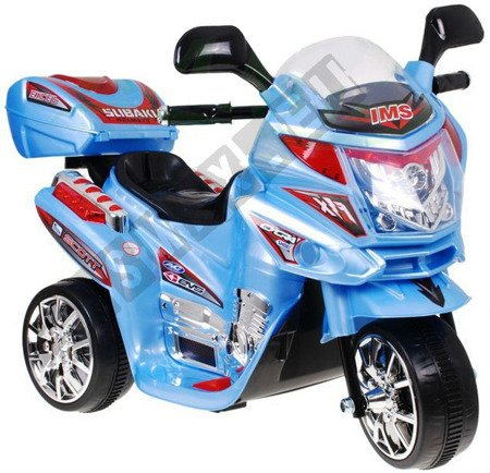 Super Kids motorcycles battery blue