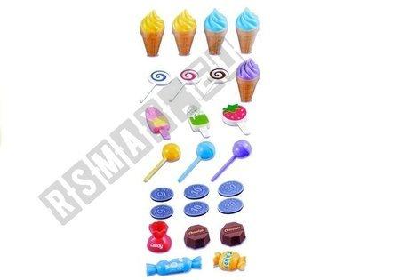 Sweet Shop 30 Elements Trolley Light & Sound Effects