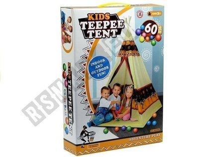 Tent Teepee Indian Tipi Playhouse + 60 Balls