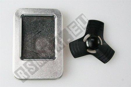The original super FIDGET SPINNER aluminium black