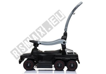 Toddlers Ride On Push Along with Parent Handle Mercedes 6x6 SX1838 Black
