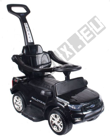 Vehicle Pusher Ford Ranger 3 in 1 Black License