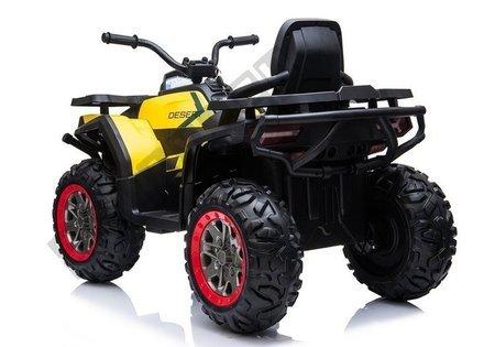 XMX607 Electric Ride On Quad - Yellow