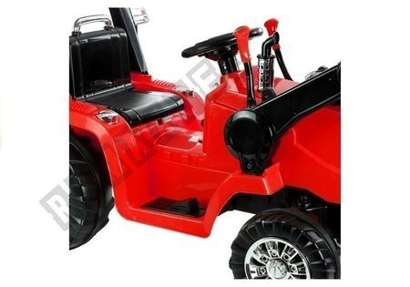 ZP1005 Red - Electric Ride On Tractor