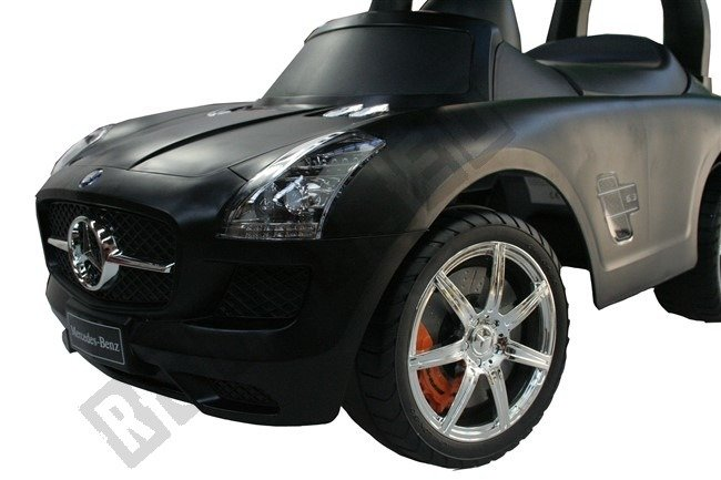 Rutscherfahrzeuge Mercedes-benz Sls Amg Rutschauto Kinderfahrzeug Lizenziert Neu Silber Top!! Kinderfahrzeuge