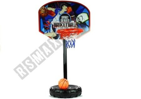 Basketball mit Ständer Basketballkorb + Ball großes Set Basketballbrett