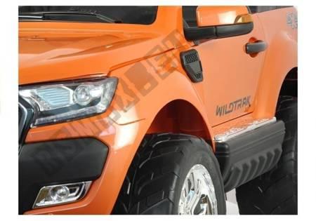 Elektroauto für Kinder Ford Ranger Orange - FM Radio 4x45W 2,4G LCD