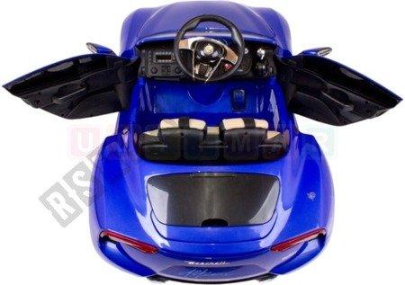 Auto auf Maserati Batterie 12V blau