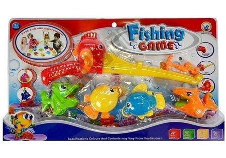Bad Angeln Set mit Angelrute und Fischen