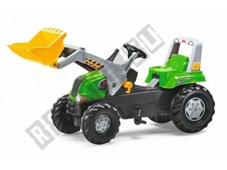Trettraktoren + Löffel Junior kindertrettraktoren grün