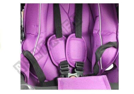Dreirad PRO700 Violett Liegefunktion Klingel Lenkstange Dreirad