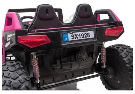 Elektrisches Aufsitzauto SX1928 MP4 24V Rose