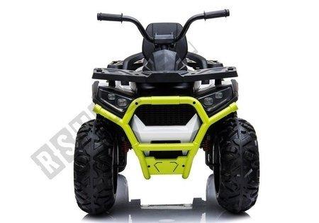 Elektro Quad XMX607 Weiß Ledersitz EVA-Reifen LED Frontscheinwerfer 2x45W