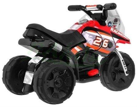 Elektromotorrad Kindermotorrad Kinderelektroauto Dreirad Kinderfahrzeug Rot