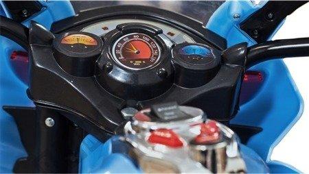 Elektromotorrad Kindermotorrad Kinderelektroauto Kinderfahrzeug Dreirad Grau