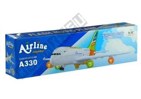 Flugzeug 45 cm Bump n Go Sound&Licht Spielzeug Passagierflugzeug